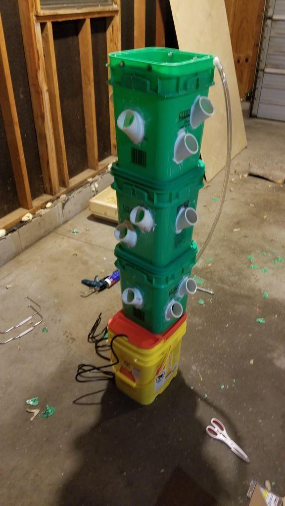 Hydroponic Tower | Hydroponics, Hydroponic gardening ...