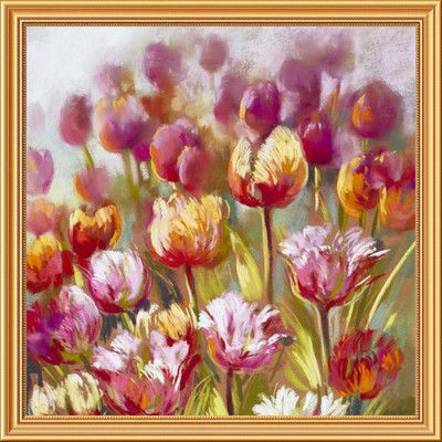 Global Gallery 'My oh My' by Nel Whatmore Framed Painting Print on Canvas Size: