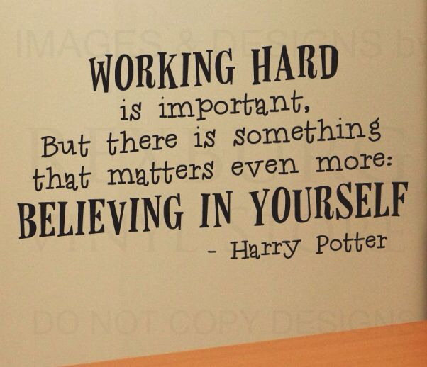 Harry Potter Inspirational Quotes: Wall Decal Quote Vinyl Sticker Art Lettering Graphic Harry