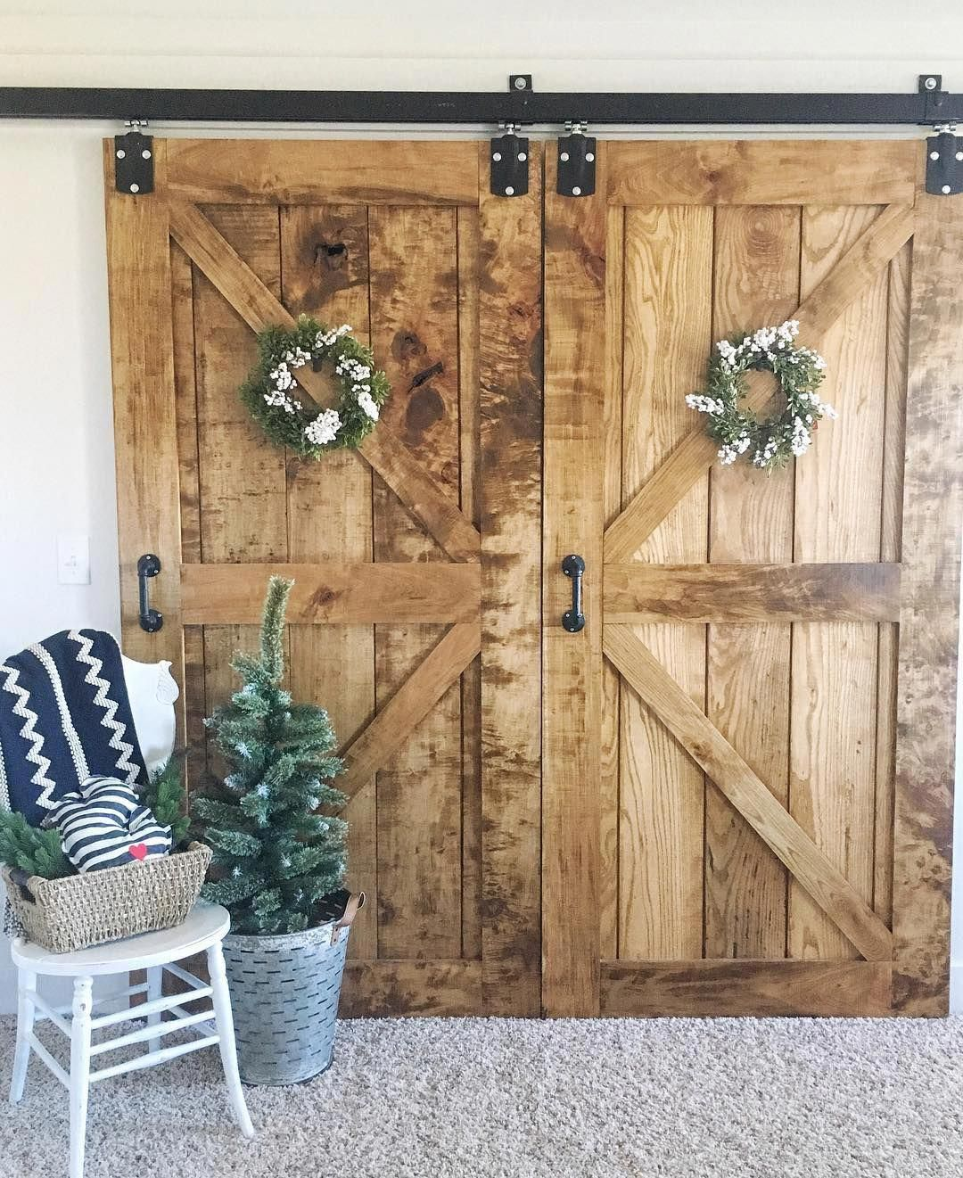 Barn Doors Made By My Husband Door Hardware From Tractor Supply