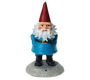 What Is A Garden Without A Gnome A Talking Hysterical Gnome