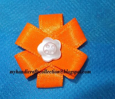 COLOURFUL IMAGINATIONS !!!!!!!: SATIN RIBBON FLOWERS - DIY