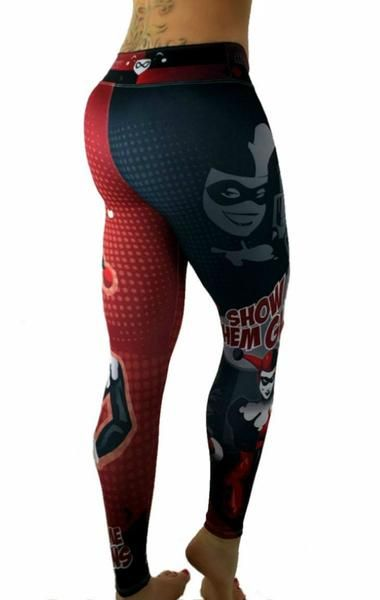 eb061bb68af7b S2 Activewear - Harley Quinn Leggings - Roni Taylor Fit | Hero in ...