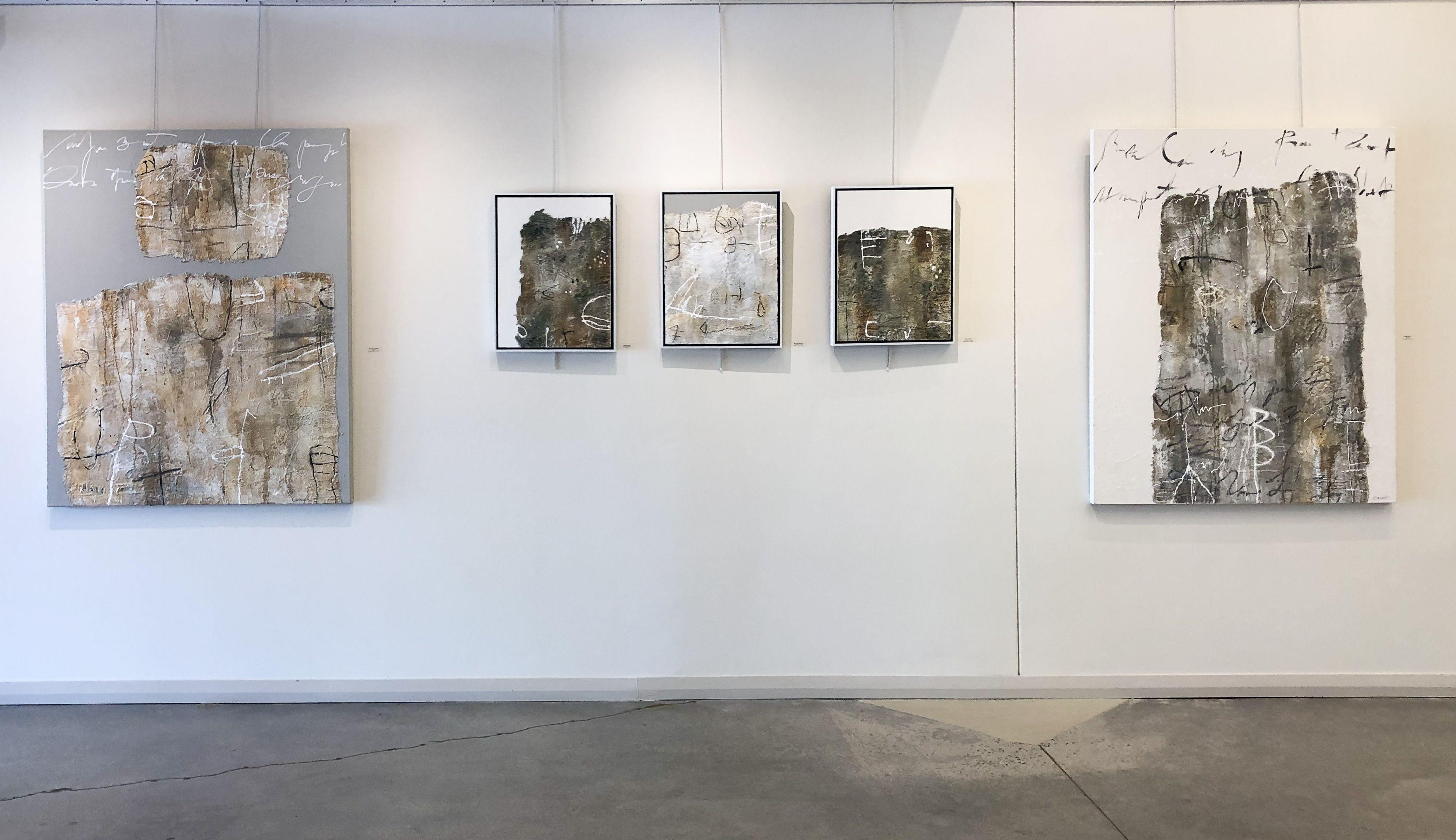 Installation shot of Carmack solo exhibition at Leland