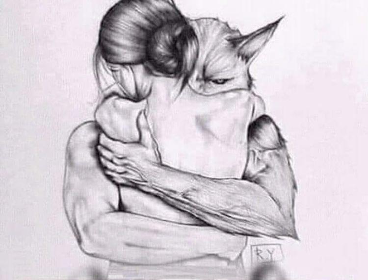 Pin By Daiia Martinez On Frases De Vida Beautiful Fantasy Art Werewolf Art Horror Art