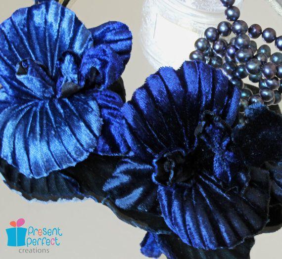 Mariage de coiffe quelque chose de bleu par PresentPerfectStudio
