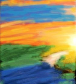 #sunset #lake #water #colorful #beauty #beautiful #sky by Jacquelyn on #Colorized. Check out more Colorized Art at http://bestofcolorized.tumblr.com    ...BTW,Please Check this out:  http://artcaffeine.imobileappsys.com