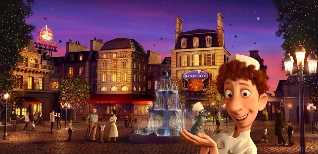 Ratatouille - La Place de Rémy