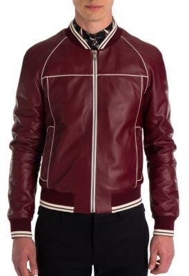 cc39b30fe Dolce & Gabbana Leather Racing Moto Jacket | plsanders1 Board ...