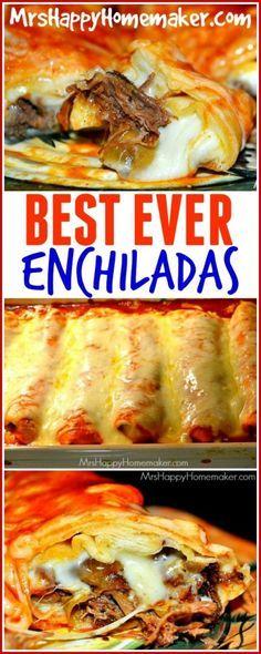 Photo of BEST EVER Enchiladas – Mrs Happy Homemaker