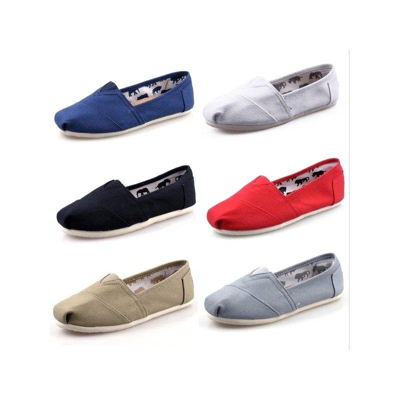 canvas shoes women and men canvas shoes fashion loafers flat shoes women espadrille
