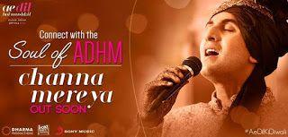 Channa Mereya Songs Songspk Djmaza Downloadming Wapking Bollywood Channa Mereya Arijit Singh Movie Songs Hindi Songs 128kbps Mp3 Song Download Songs Song Hindi