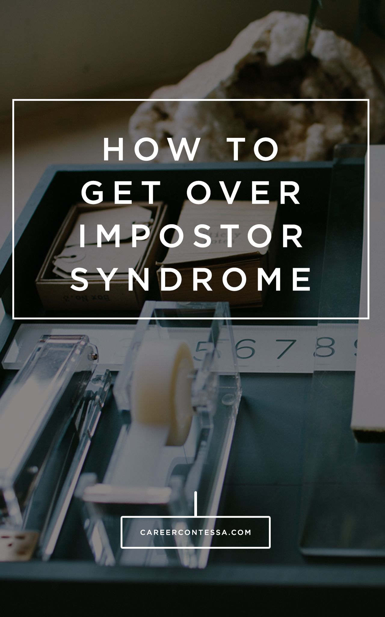 how to get over it band syndrome