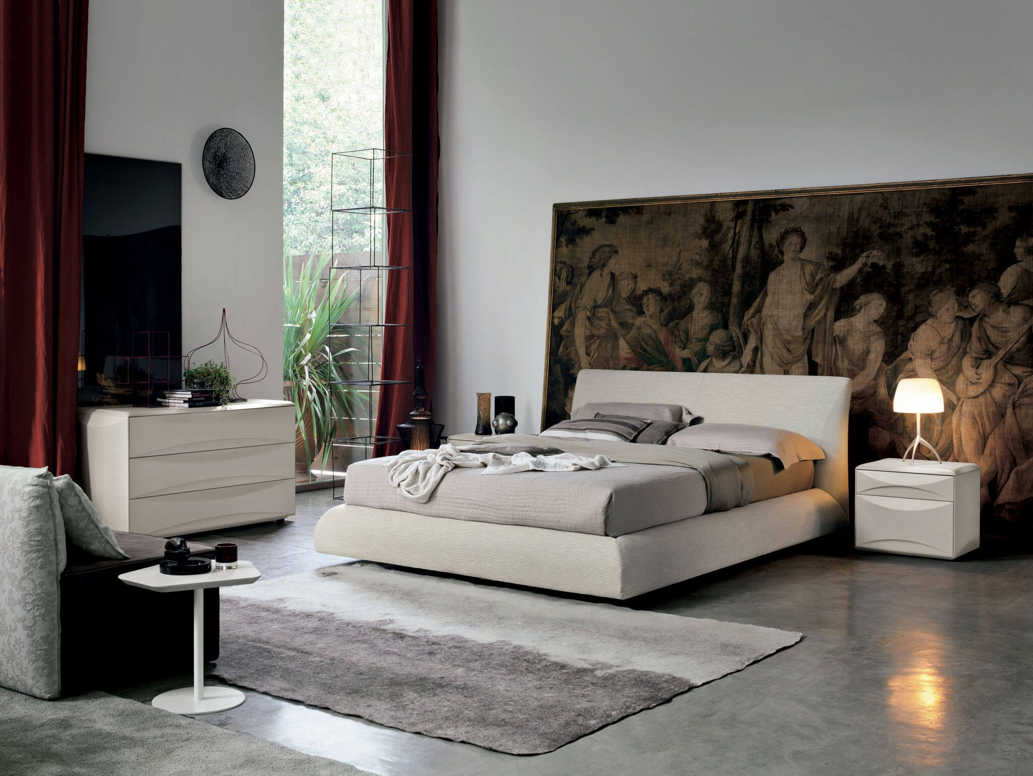 Eros by Tomasella. Available at Archisesto. #bed #bedroom #homeinspo ...