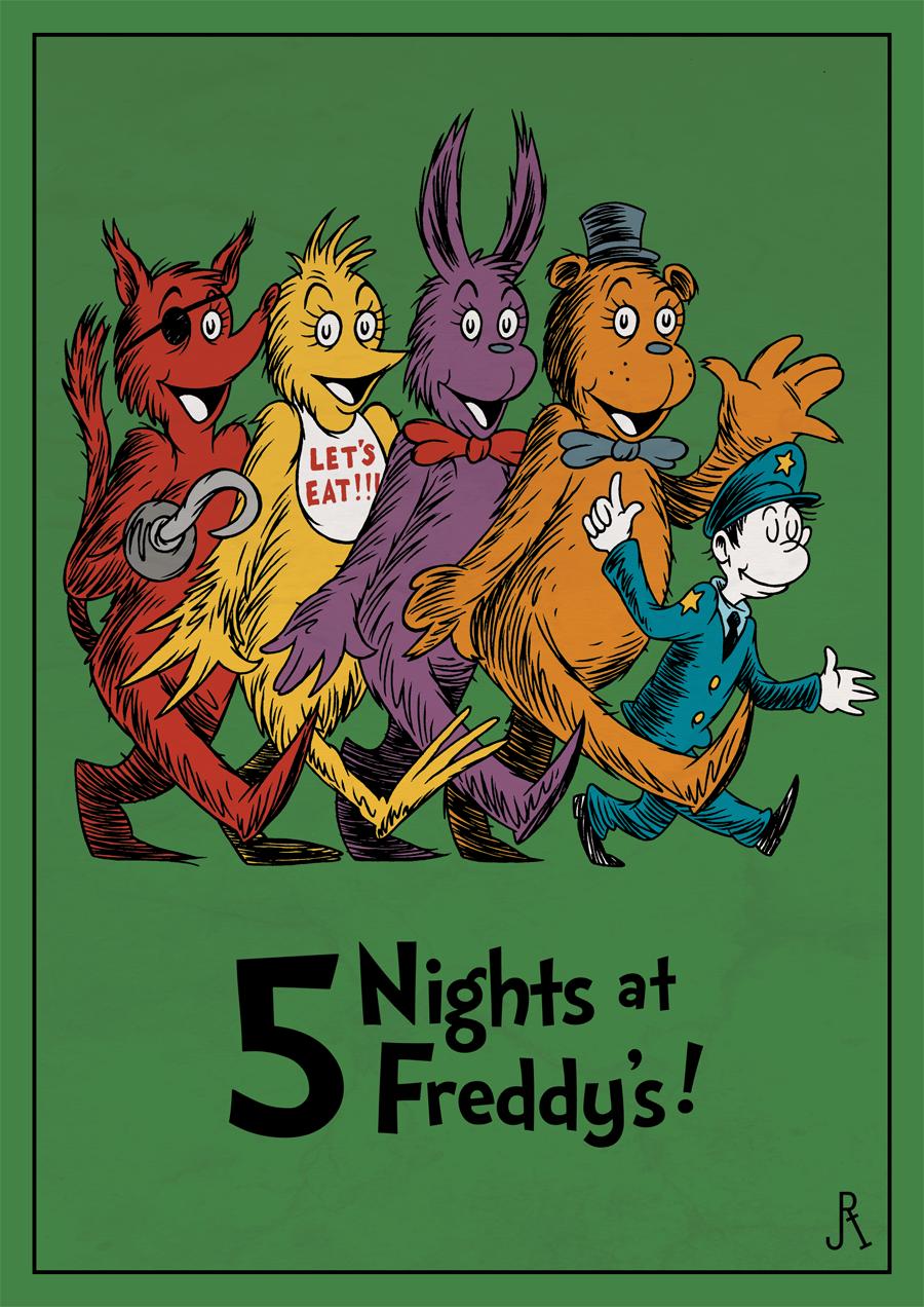 5 Nächte bei Freddy! von DrFaustusAU auf DeviantArt  – five night fredy*s