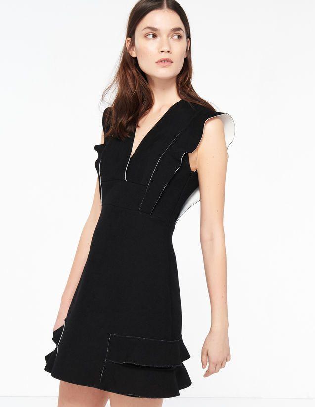 29fec184c7 Aglae, Black, | sandro-paris.com | Simple and Cool… too | Dresses ...