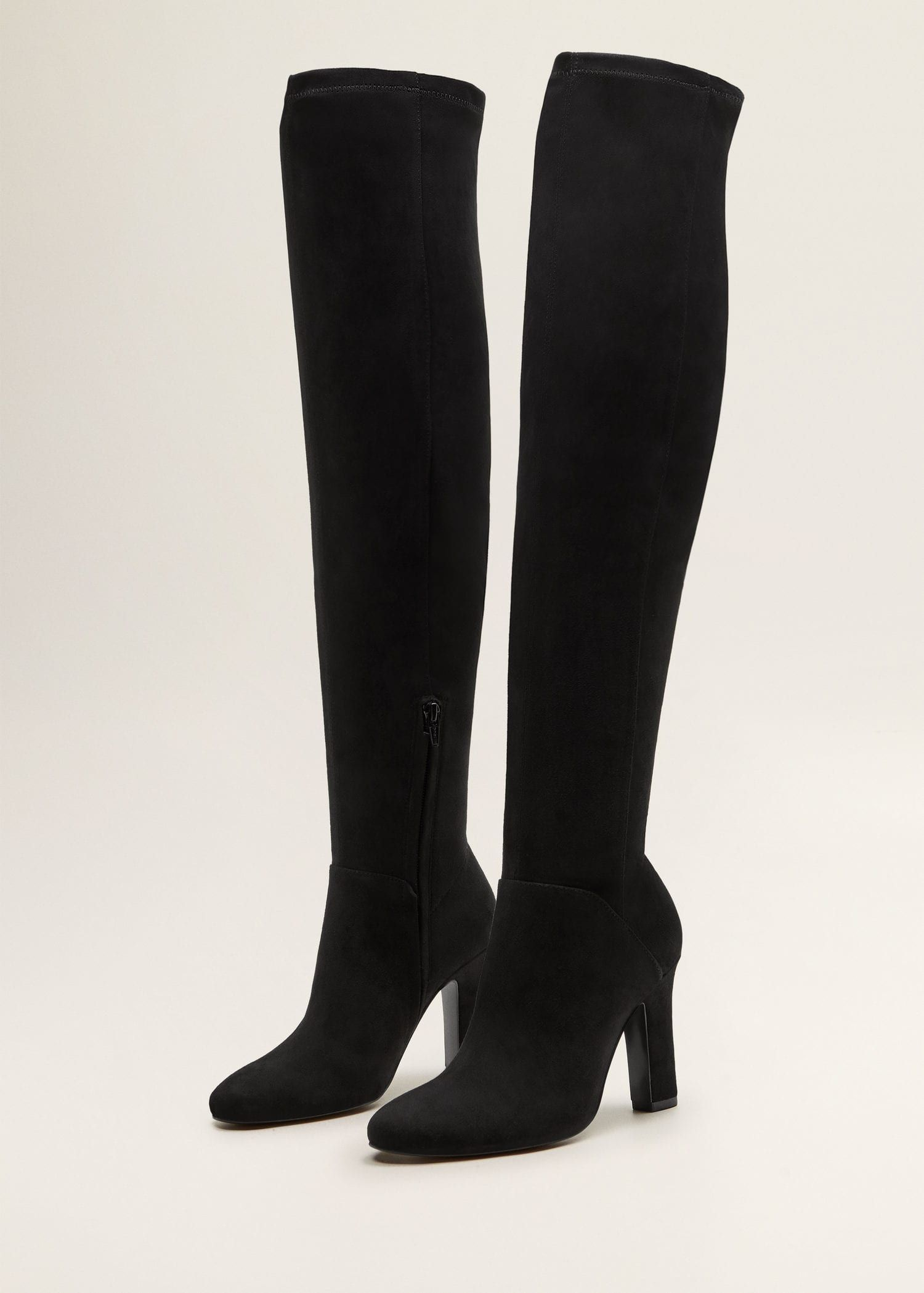 4008b5ea Bota alta tacón - Mujer | shoes❤ | Botas altas, Tacones y Zapatos