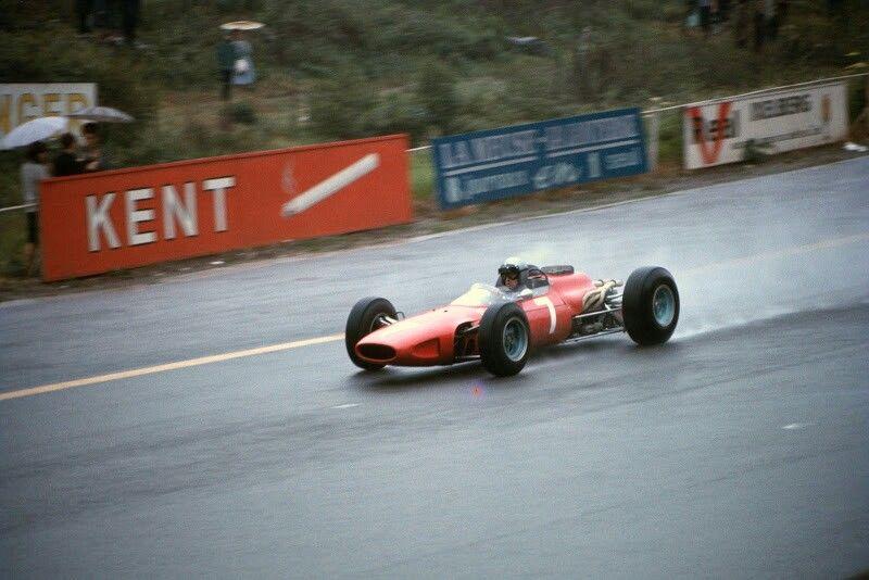 Lorenzo Bandini Ferrari 1966 Belgian Grand Prix