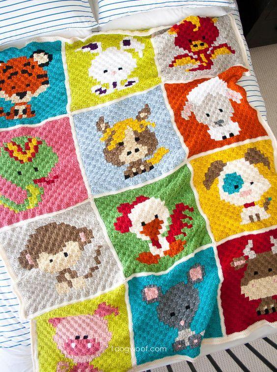 Corner To Corner Crochet Pattern Blanket Ideas Video Tutorial