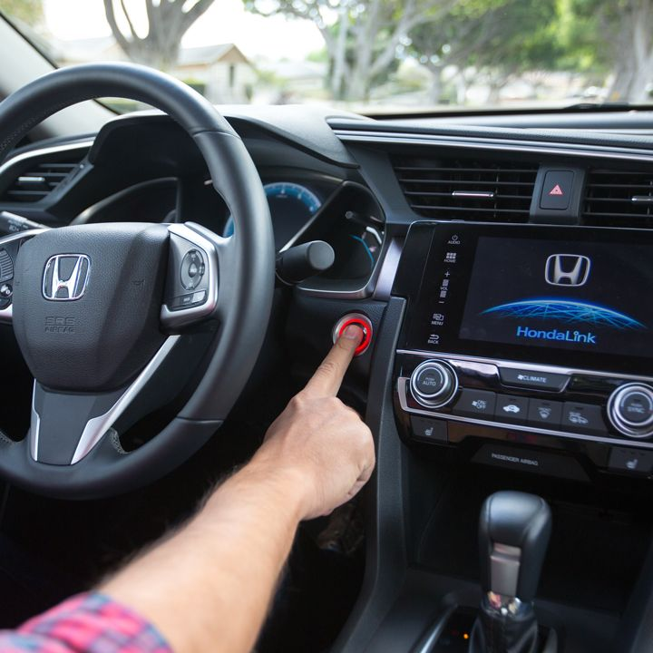 Valentine S Day Rule 18 Impress Your Date With The Available Push On Start In Honda Civic Touring Model Shown