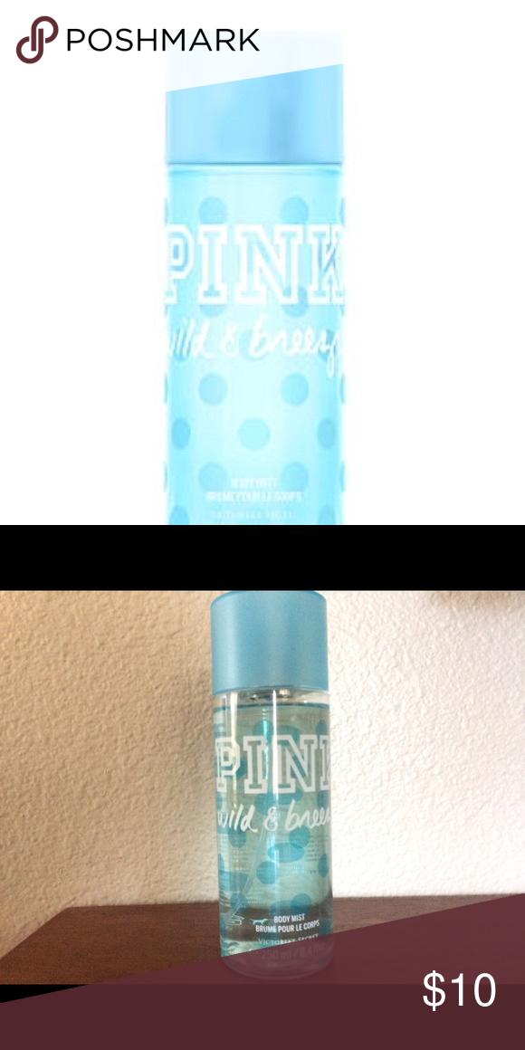 Pink Wild Breezy Body Mist Body Mist Pink Fresh Fragrances