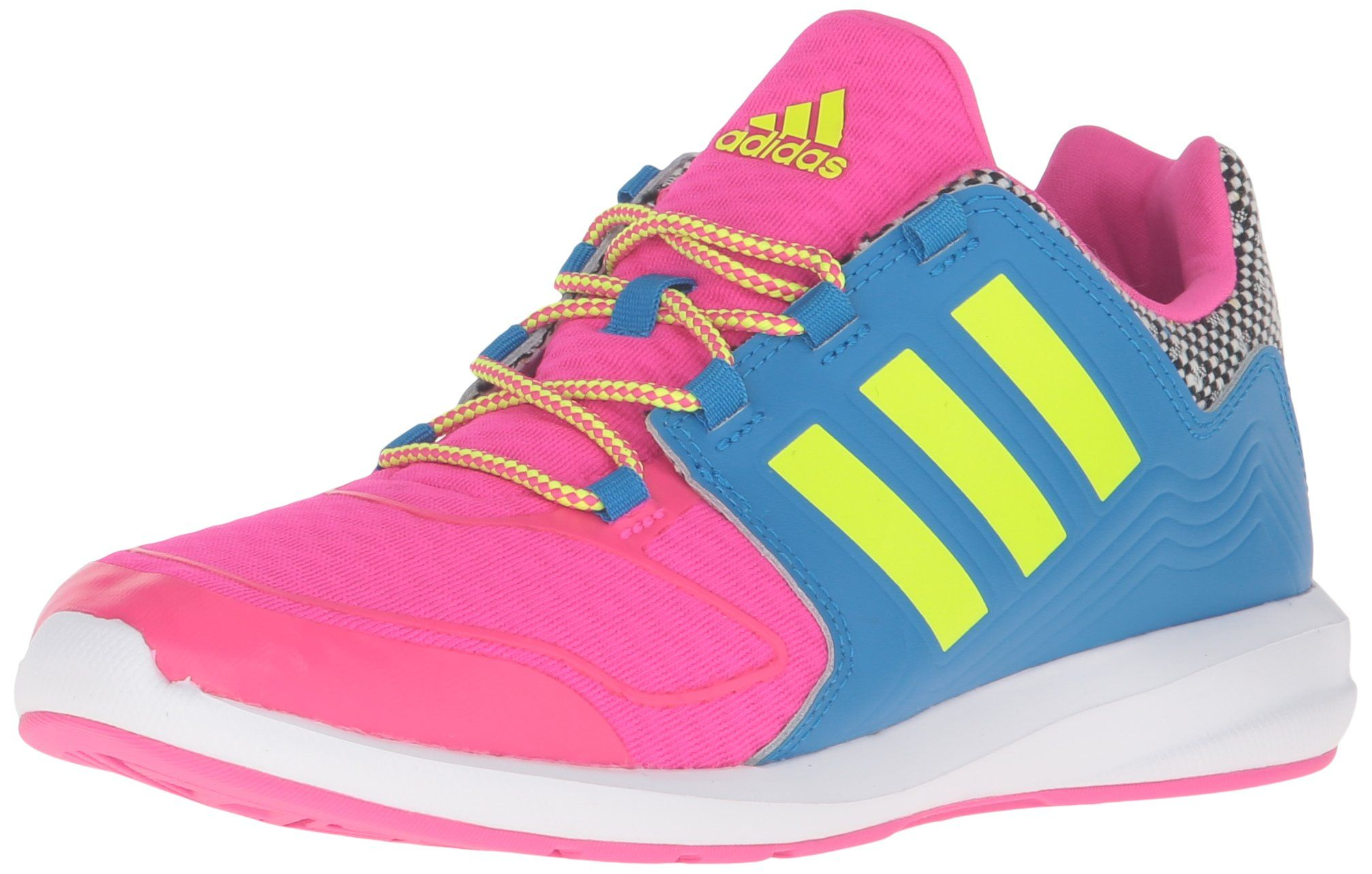 adidas Performance s-Flex K Running Shoe Shock Pink/Electricity/Shock Blue New
