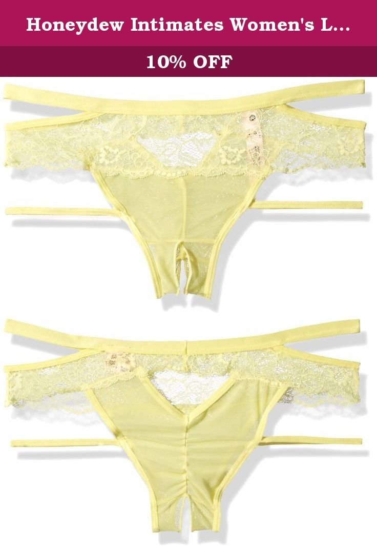 0229fed445d16 Honeydew Intimates Women's Lucy Hipster, Cali Kissed, Small. A strappy  design heightens the allure of hipster briefs designed with a romantic  panel of sheer ...