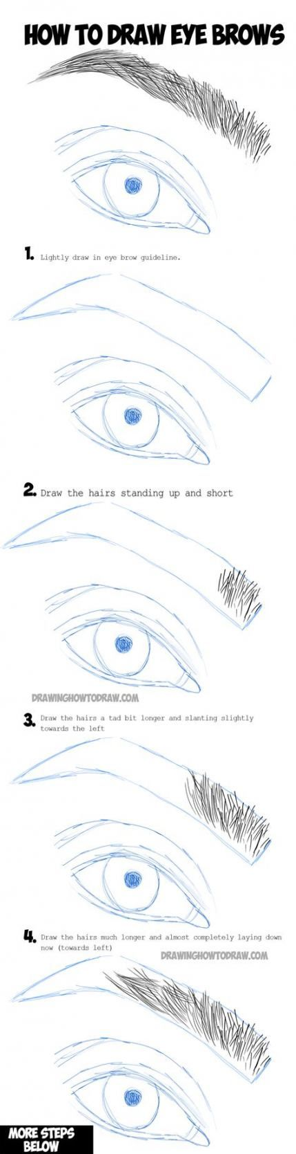 20+ trendy makeup eyebrows tutorial step by step perfect ...
