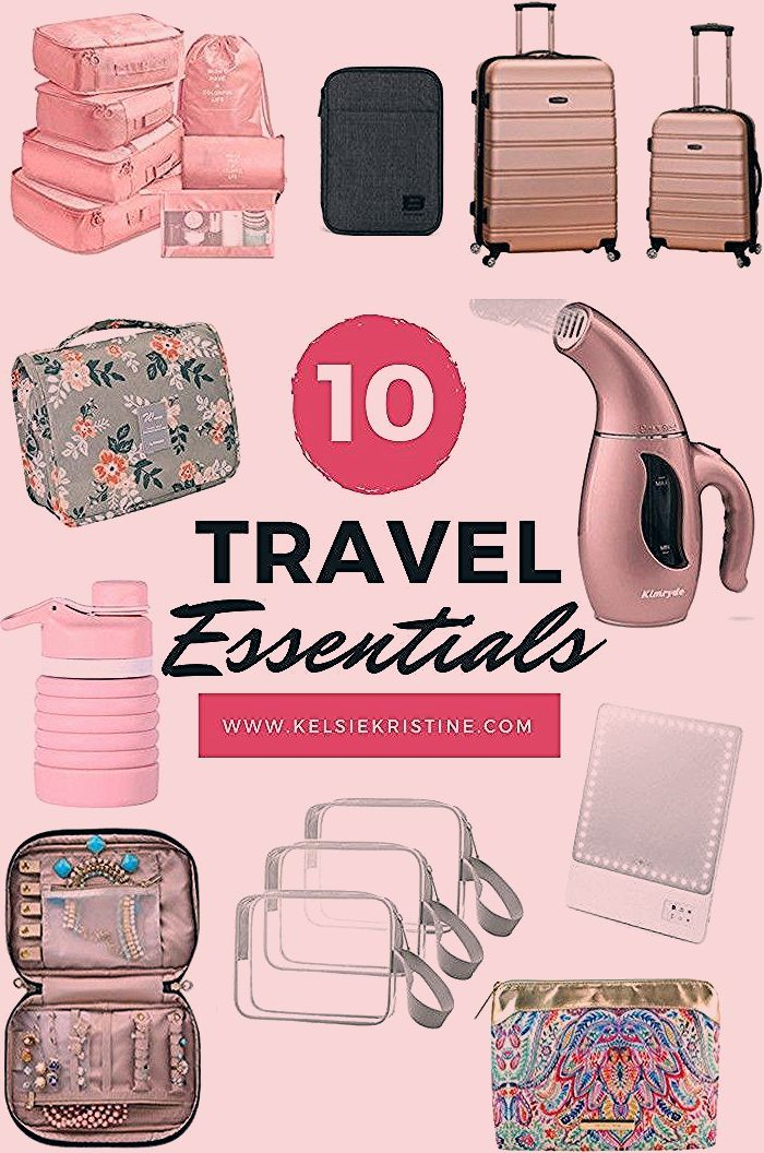 Photo of My Favorite Travel Essentials – Kelsie Kristine