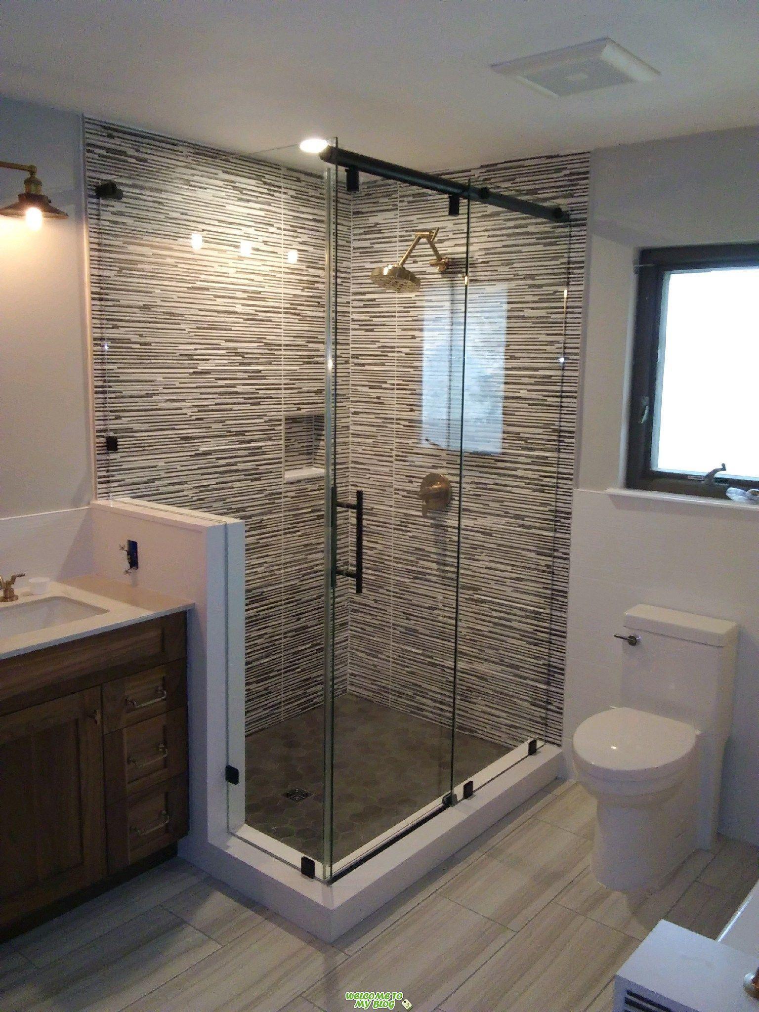 Diapositiva Hidraulica De 3 8 Quot Con Baja De Hierro Showerguard Vidrio Cuadrado Aceite De In 2020 Modern Bathroom Design Bathroom Interior Design Shower Remodel