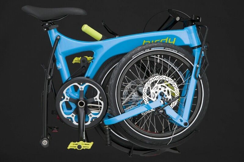 Birdy Folding Bike Folded View Eurobike 2015 Folding Bike