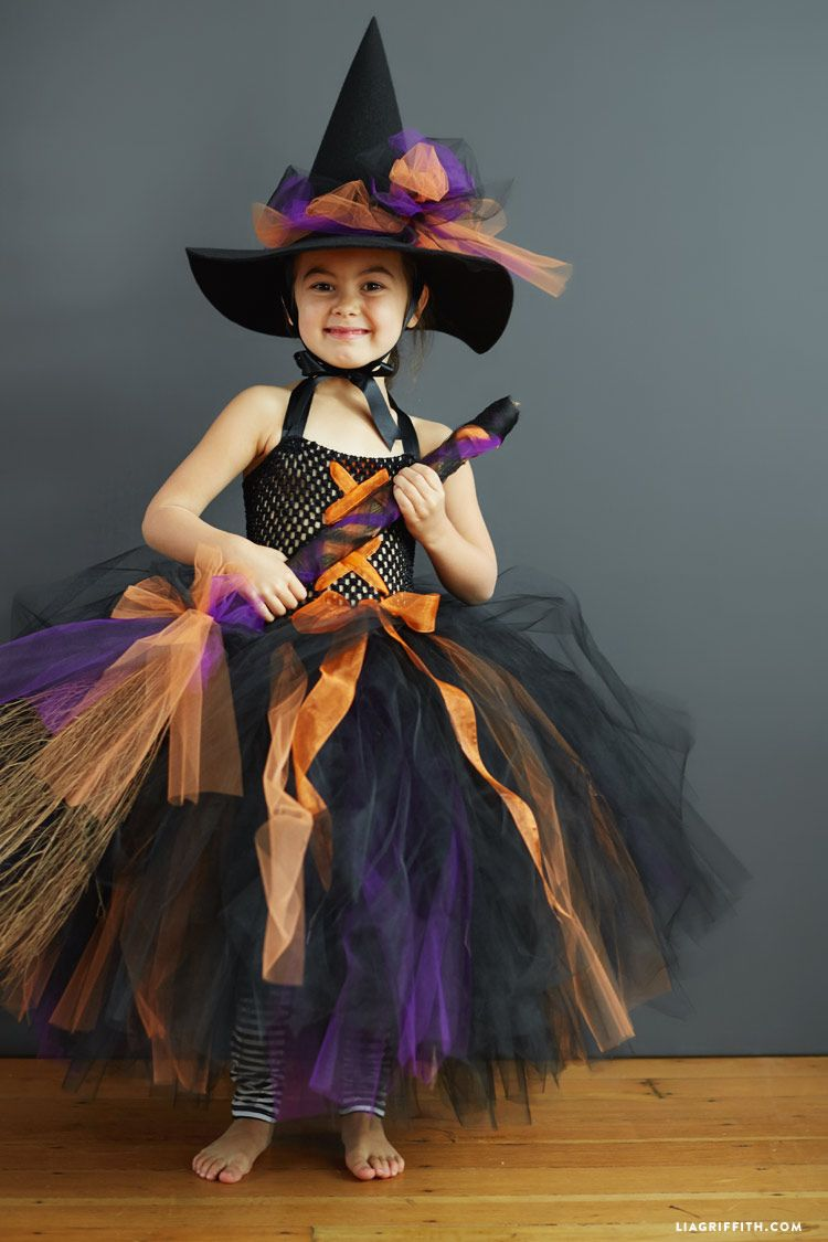 Kids Diy Witch Costume Follow This Simple Tutorial To Make Today
