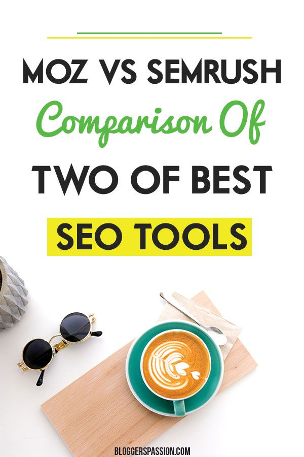 The Of Moz Or Semrush