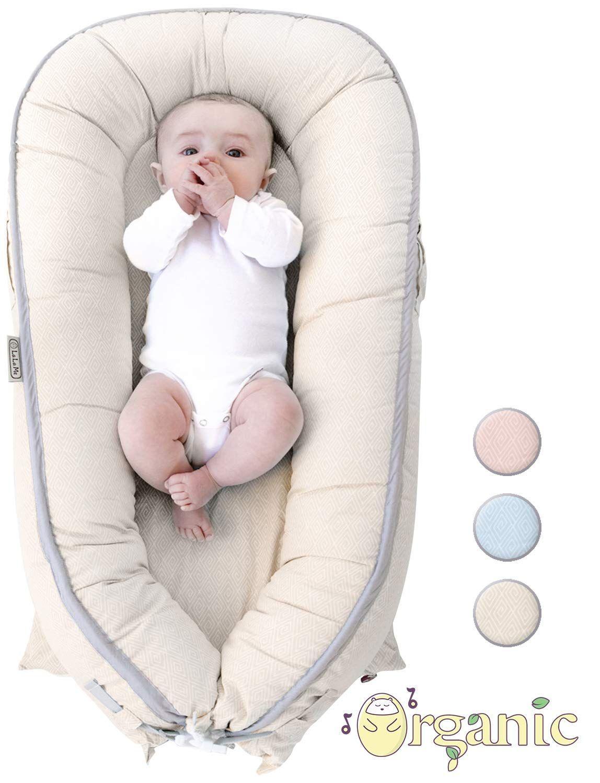 organic newborn lounger baby nest