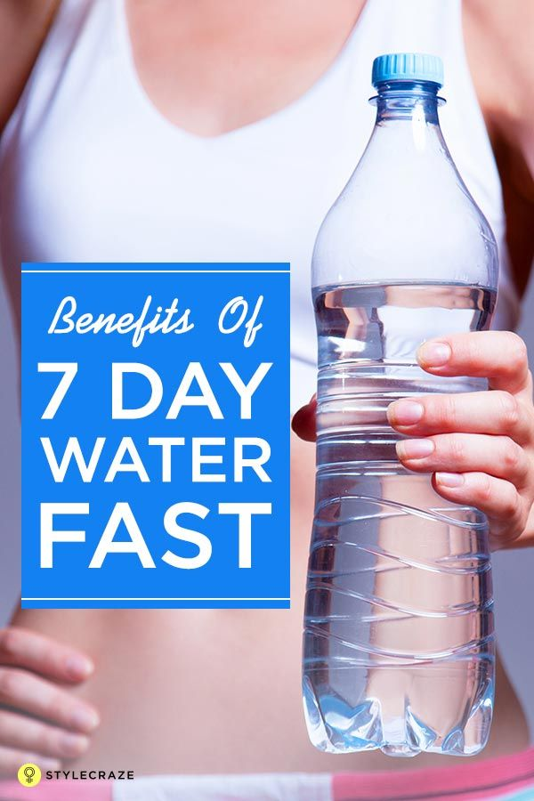 How To Do Water Fasting Benefits And Dangers Water Fasting