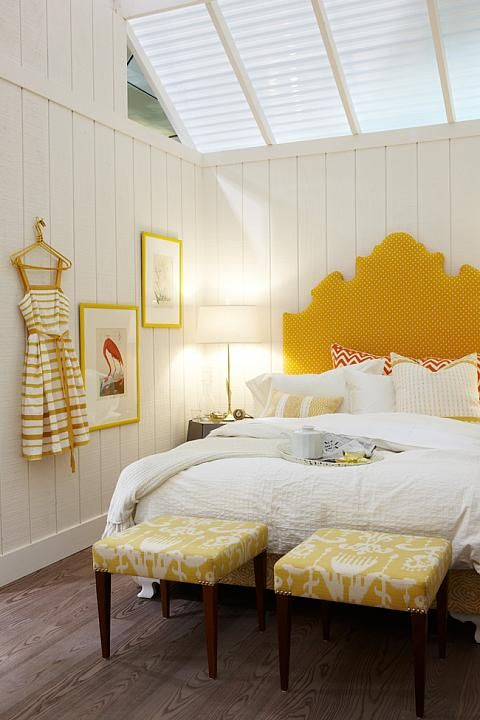 The Yellow Bedroom | Sarah Richardson Design | Interior Design Show ...