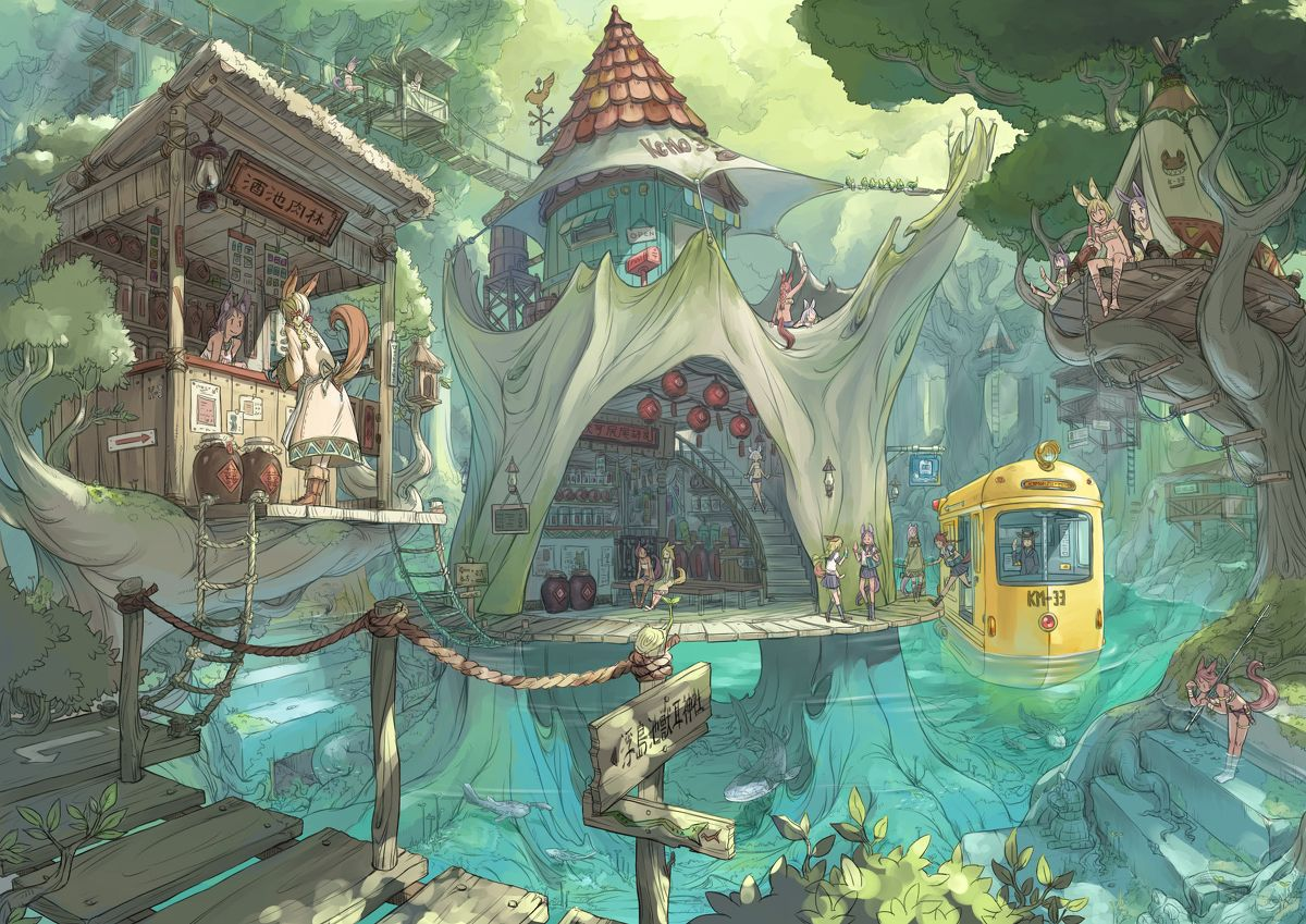 Enters The Battlefield Animation Art Environment Concept Art Environmental Art