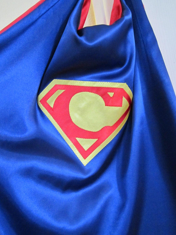 Personalized Superman Style Superhero Cape