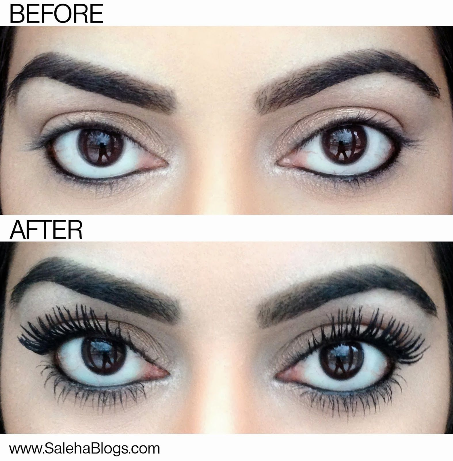 How to get super thick eyelashes amazing hair beauty that i diy falsies using a q tip coat your lashes with baby powder then apply mascara and repeat the baby powder clings to the lashes making them appear longer ccuart Image collections