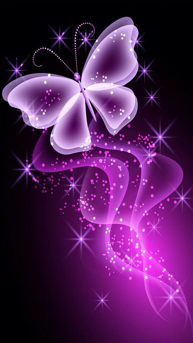 PINK BUTTERFLY IPHONE WALLPAPER BACKGROUND Butterfly