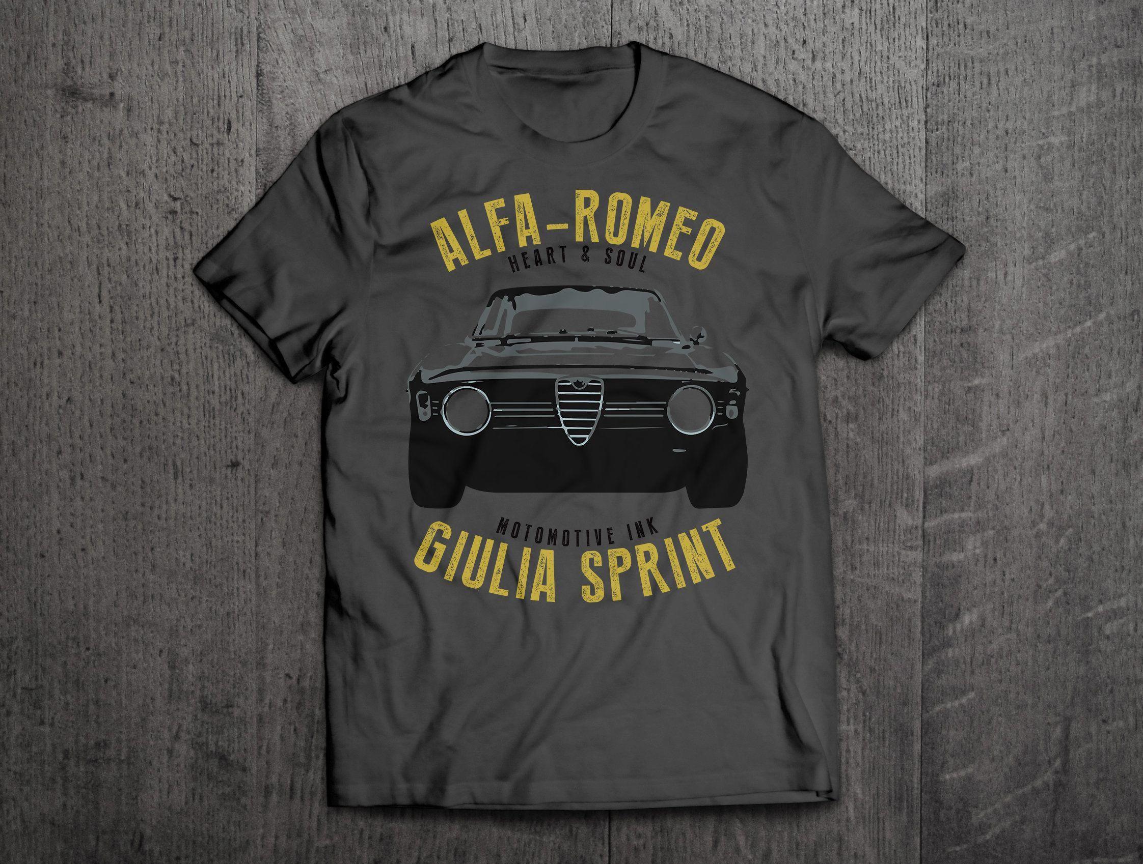 cb7079397c4 Alfa Romeo Giulia Sprint shirts