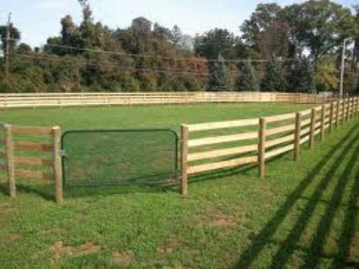 Oval Arena Arena Outdoor Amp Round Pens ♡ Horse Fencing