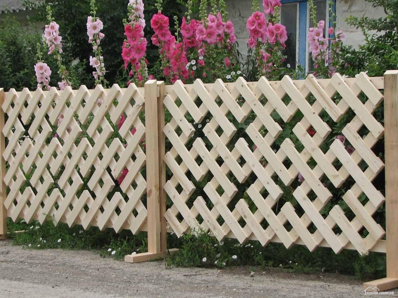 Сад огород забор своими руками