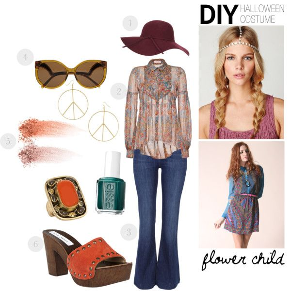 halloween costume flower child by luxieeee on polyvore also best peace be with you hippie days images pinterest rh
