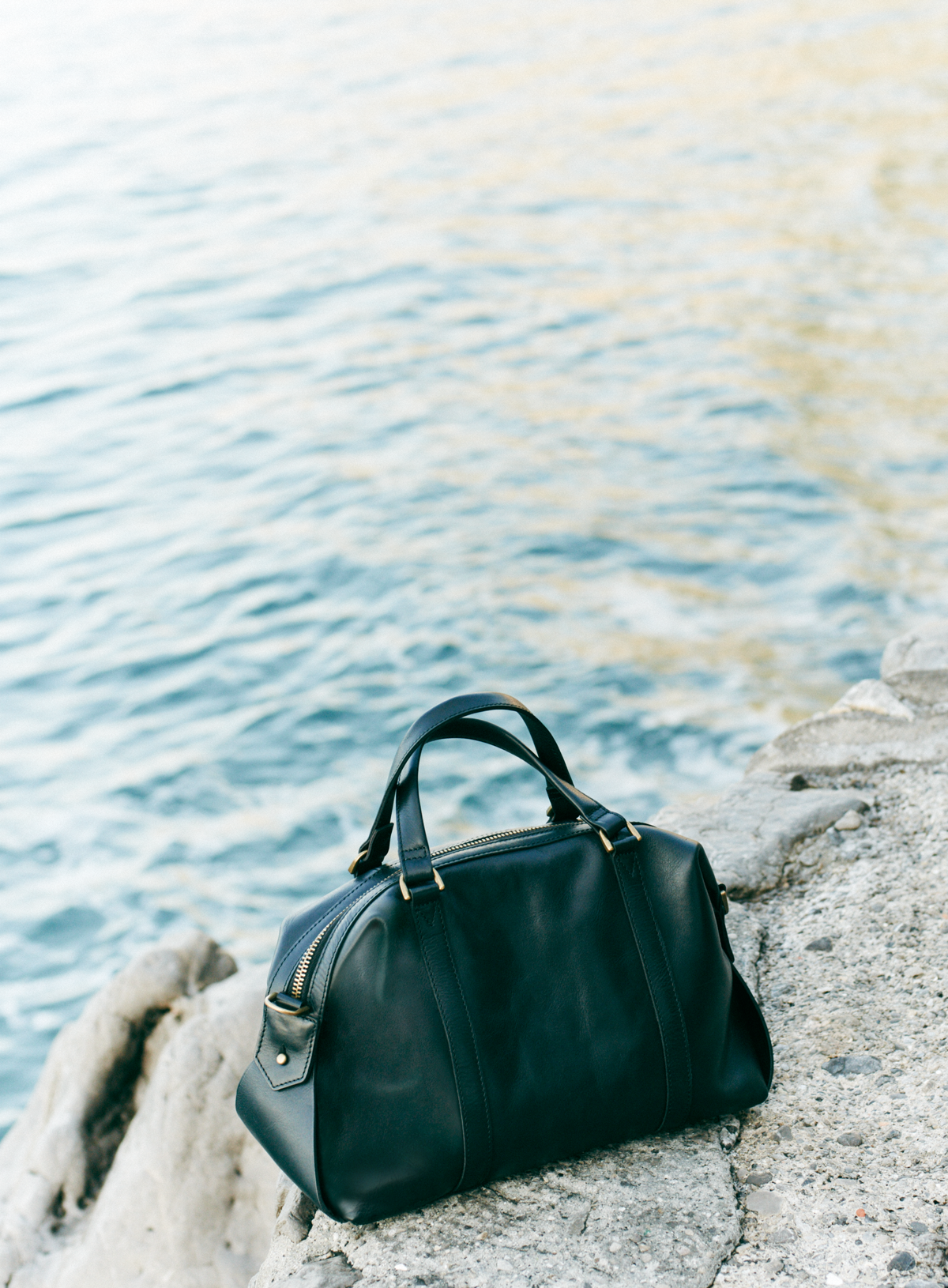 9617a82a381b3 madewell glasgow satchel in true black.  totewell