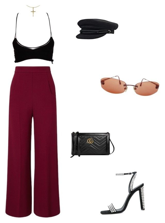 """""""Jonas"""" by andy993011 ❤ liked on Polyvore featuring Roland Mouret, Mark Fast, Giuseppe Zanotti, Gucci and Chanel"""