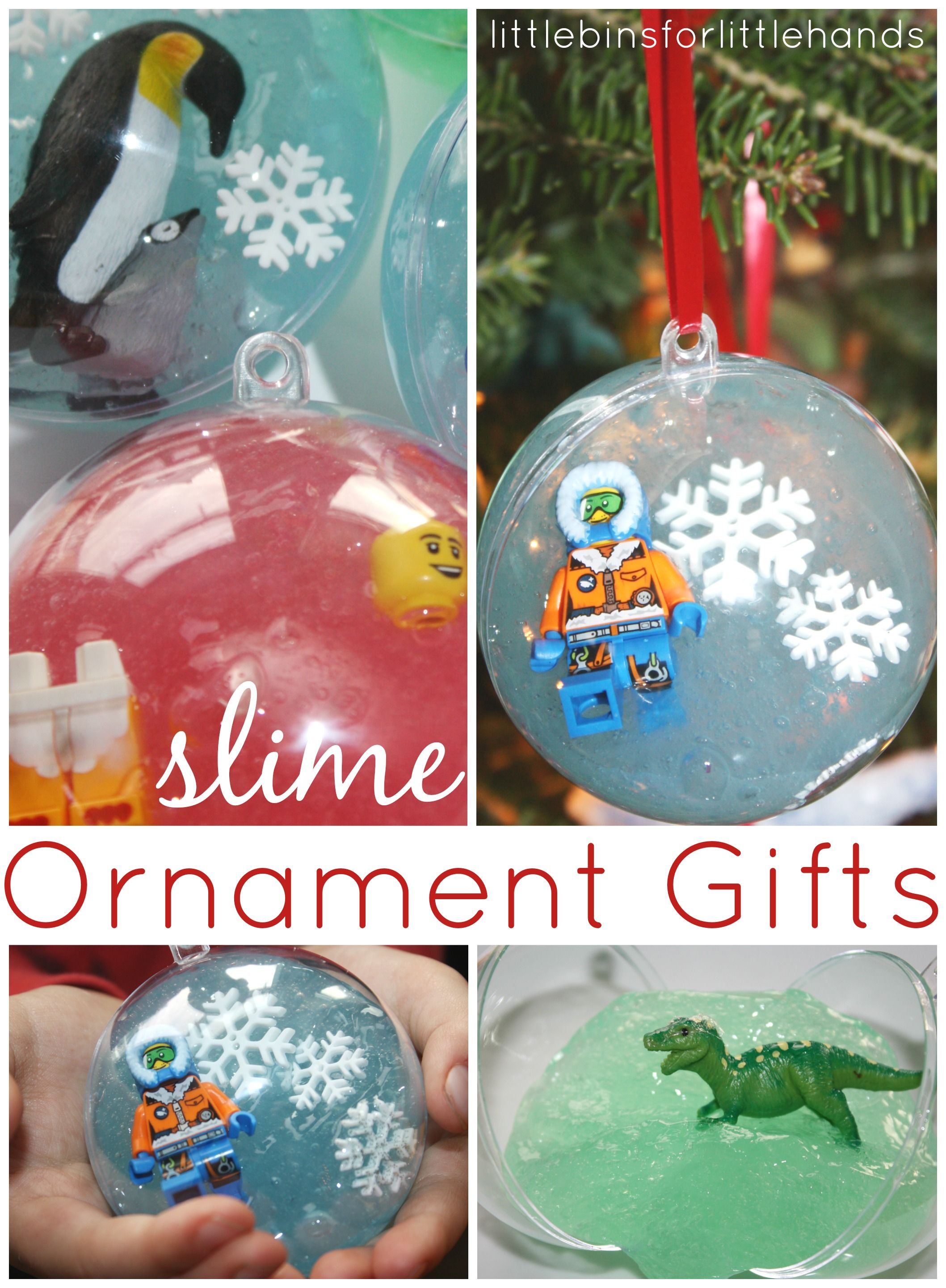 Slime Ornaments for Kid Made Gifts To Give and Get This Holiday