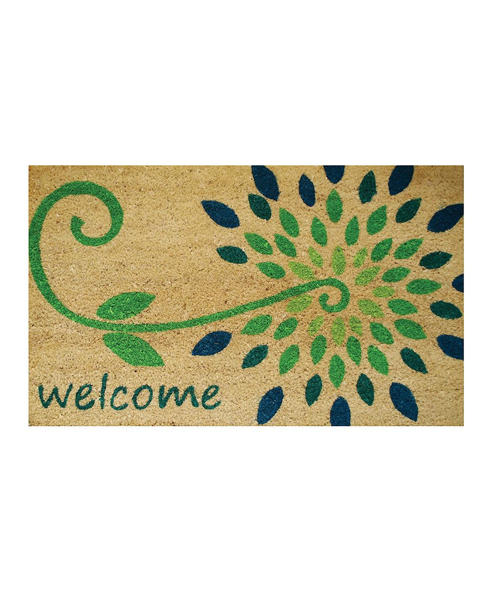 Look at this Starflower Coir Doormat on #zulily today!