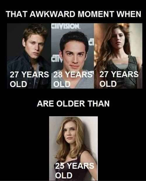 Age differences | Vampire Diaries in 2019 | Vampire diaries funny