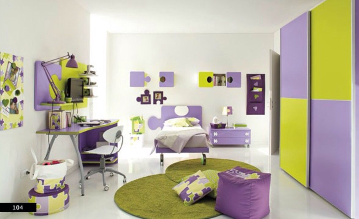 Modern teen bedroom decorating ideas jigsaw  crazy bedrooms  pinterest